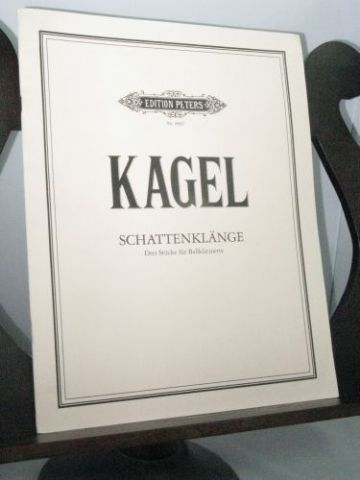 Kagel M - Schattenklange 3 Pieces for Bass Clarinet